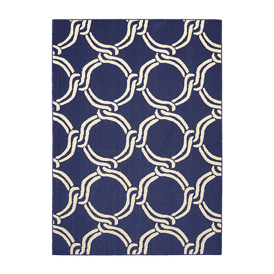 Garland Rug Large Twisted Rope Rectangular Area Rug