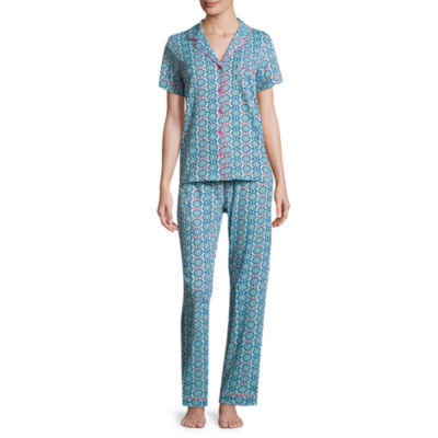 Pillow Talk By Rene Rofe 2-pc. Geometric Pant Pajama Set