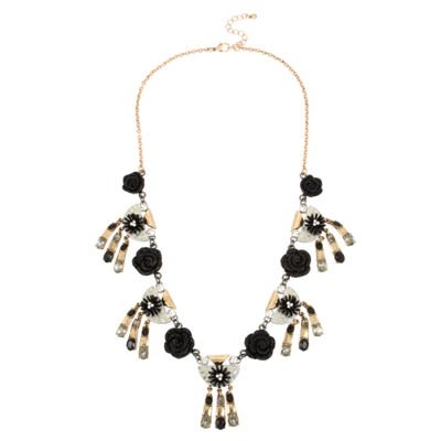 Mixit Womens Collar Necklace