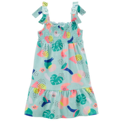 Carter's Sleeveless Abstract Maxi Dress - Preschool Girls