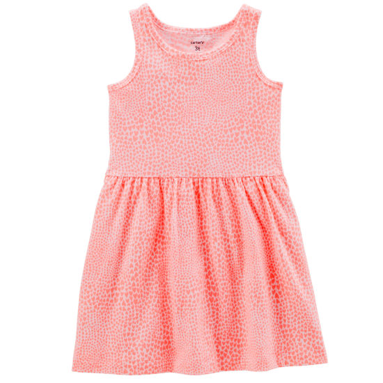 Carter's Sleeveless Hearts A-Line Dress - Preschool Girls