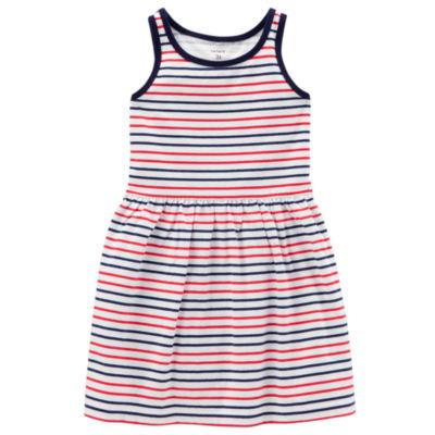 Carter's Sleeveless Stripe A-Line Dress - Toddler Girls