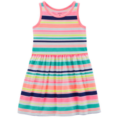 Carter's Sleeveless Stripe A-Line Dress - Toddler Girls