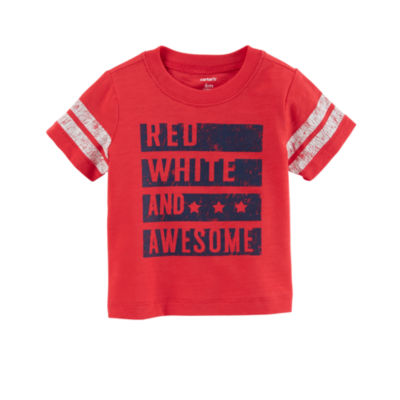 Carter's 4th Of July Graphic T-Shirt-Baby Boys