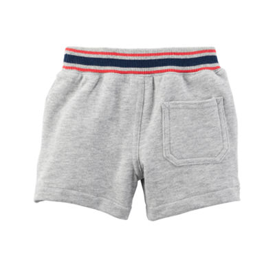 Carter's Knit Tie-Waist Pull-On Shorts - Baby Boy NB-24M