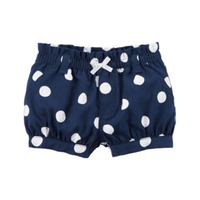 Carter's Bubble Pull-On Shorts - Baby Girls NB-24M