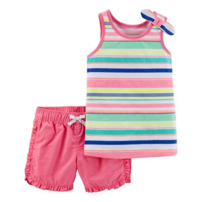 Carter's 2-pack Short Set Baby Girls
