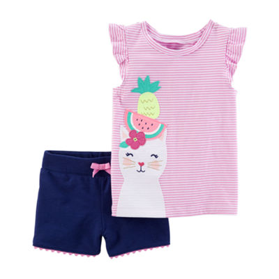 Carter's 2-pc. Short Set - Toddler Girls