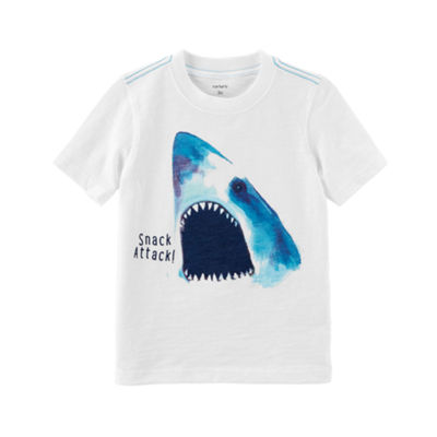 Carter's Short Sleeve Round Neck T-Shirt-Preschool Boys