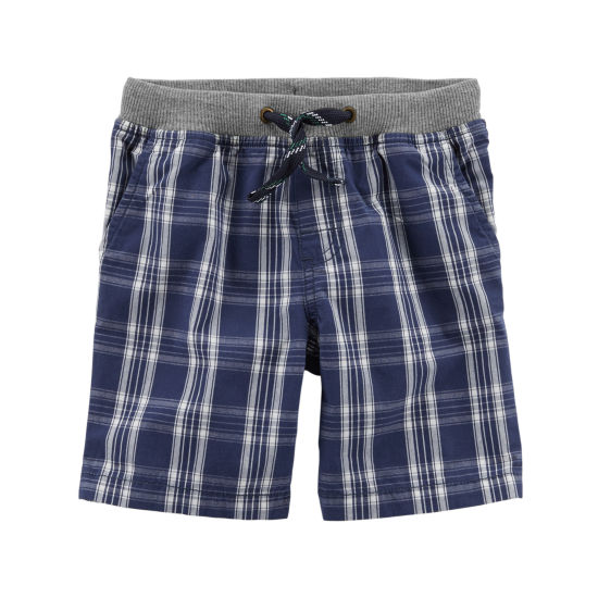 Carter's Printed Pull-On Woven Shorts - Toddler Boys 2T-5T