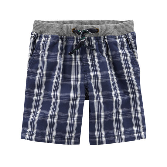 Carter's Printed Woven Pull-On Shorts - Baby Boy NB-24M