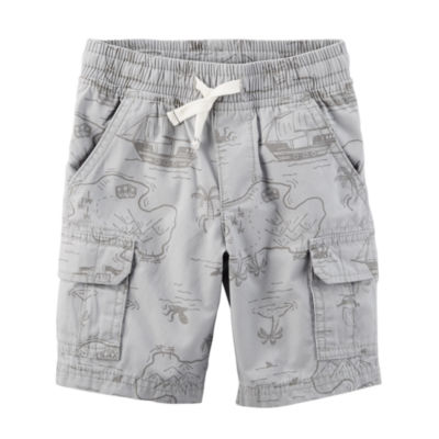 Carter's Straight Fit Woven Cargo Shorts - Baby Boys