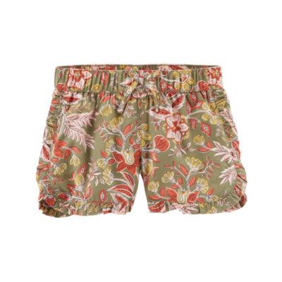 Carter's Ruffle Edge Pull-On Shorts - Toddler Girls 2T-5T