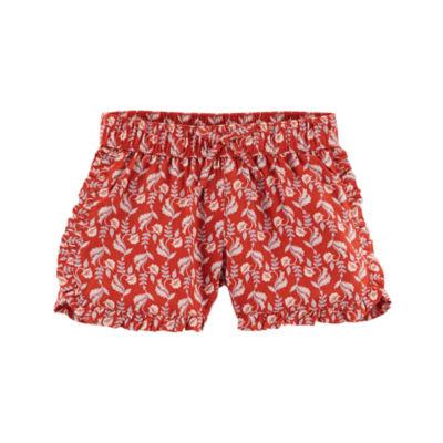 Carter's Ruffle Edge Pull-On Shorts Preschool Girls