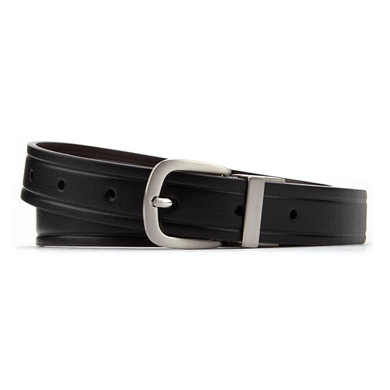 Van Heusen Embossed Edge Reversible Belt- Boys