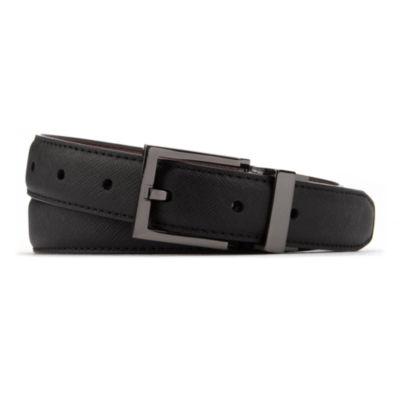 Van Heusen Textured Reversible Belt