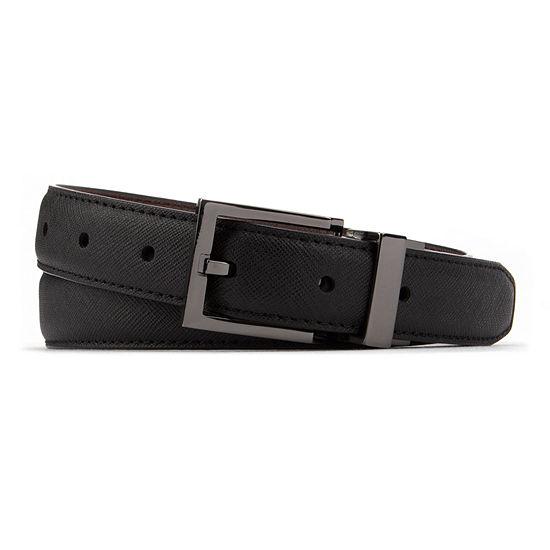 Van Heusen Textured Reversible Belt Boys