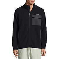 Deals on Columbia Mens River Ranch Sherpa Fleece Jacket