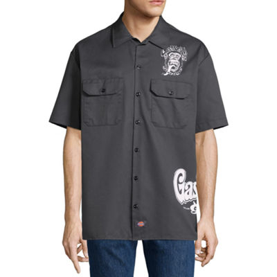 Dickies Short Sleeve Button-Front Shirt