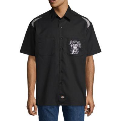 Dickies Short Sleeve Button-Front Shirt