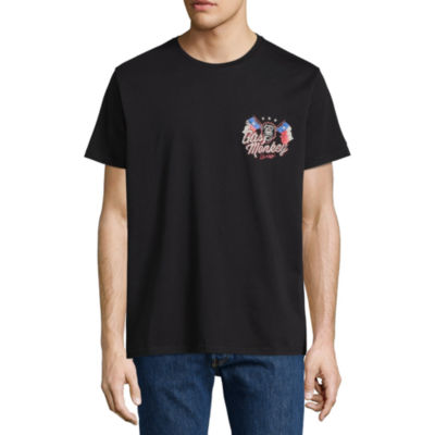 Dickies Gas Monkey Garage Texas Flags Graphic Tee