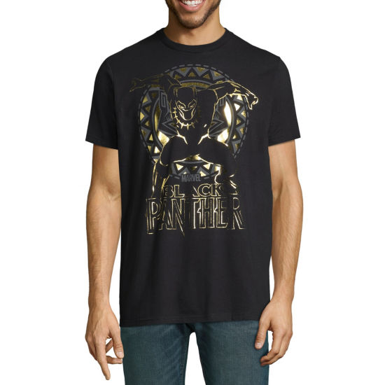 Avengers Black Panther Foil Graphic Tee