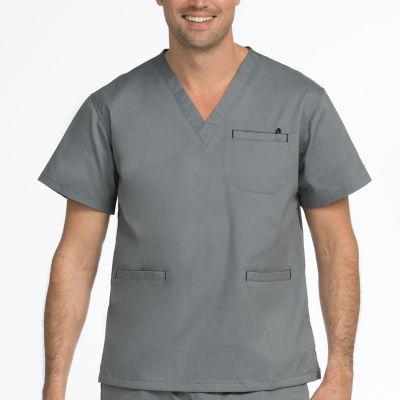 Med Couture MC2 8471 Mens  Clasic V-neck Scrub Top - Big