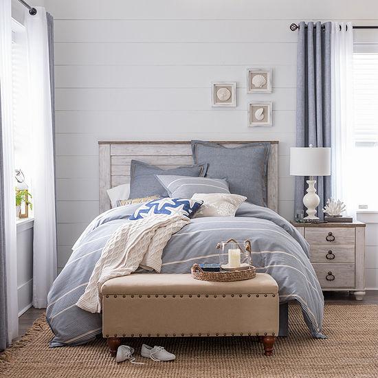 JCPenney Home Regatta 4-pc. Comforter Set & Accessories