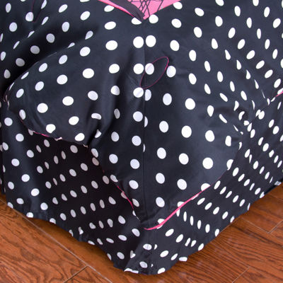 Rizzy Home Jesus Dots Bed Skirt