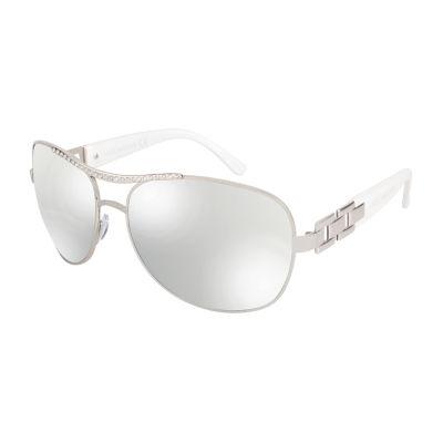 Rocawear Full Frame Aviator UV Protection Sunglasses-Womens