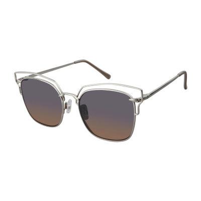 Libby Edelman Full Frame Cat Eye UV Protection Sunglasses-Womens