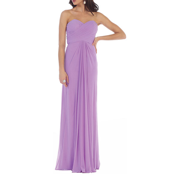 Simple Yet Beautiful Sweetheart Bridesmaids Evening Dress