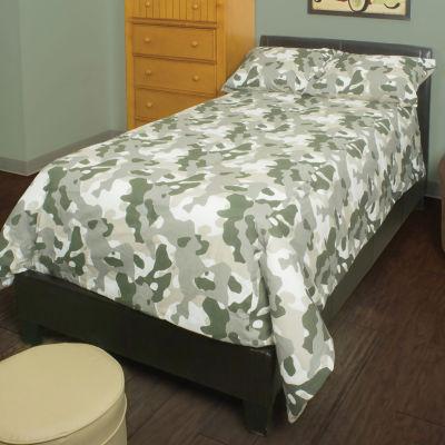 Rizzy Home Victor Camouflage Riz Kidz Comforter Set