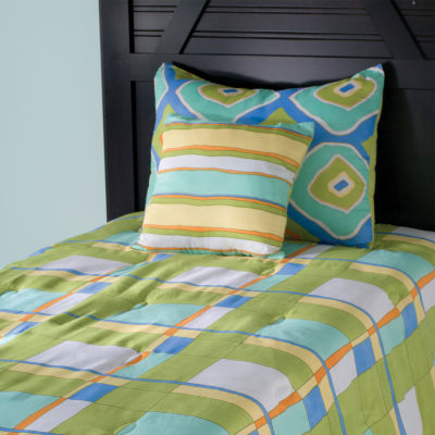 Rizzy Home Vincent Plaid 4 Piece Riz Kidz Comforter Set