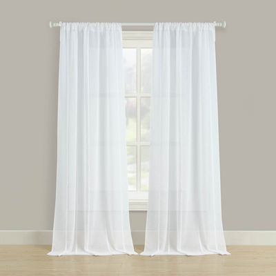Estee 2-Pack Rod-Pocket Curtain Panel