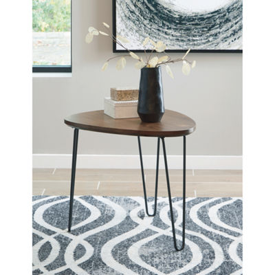 Signature Design by Ashley® Courager Triangle End Table