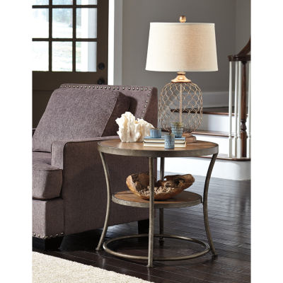Signature Design by Ashley® Nartina Round End Table