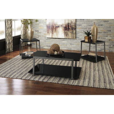Signature Design by Ashley® 3-Piece Rollynx Coffee Table Set