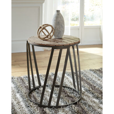 Signature Design by Ashley® Fathenzen Round End Table