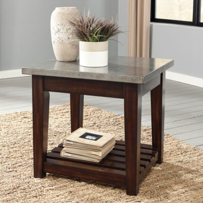 Signature Design by Ashley® Bynderman Rectangular End Table