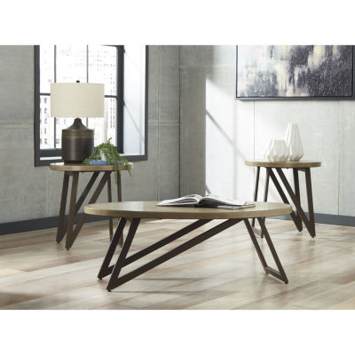Signature Design by Ashley® 3-Piece Dougetti Coffee Table Set