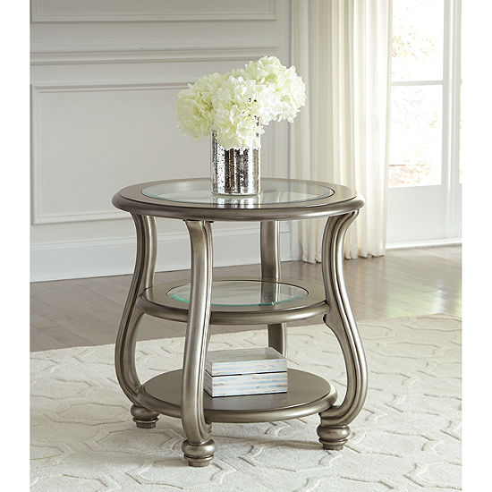 Jcpenney Table: Signature Design By Ashley® Coralayne Round End Table