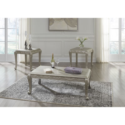 Signature Design By Ashley® 3 Piece Verickam Coffee Table Set