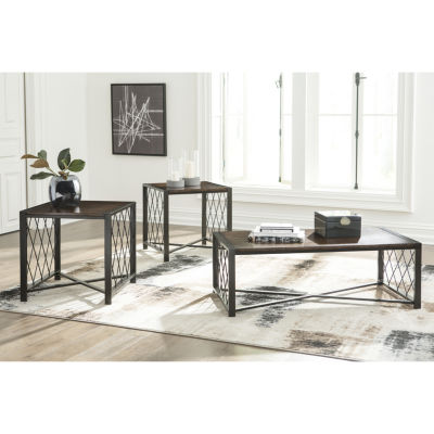 Signature Design by Ashley® 3-Piece Harpan Coffee Table Set