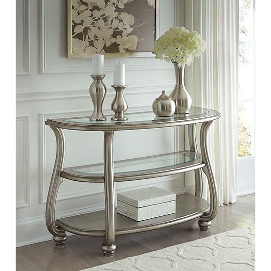 Signature Design By Ashley Coralayne Sofa Table