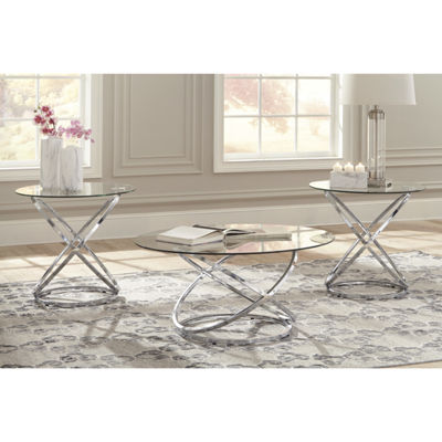 Signature Design by Ashley® 3-Piece Hollynyx Coffee Table Set