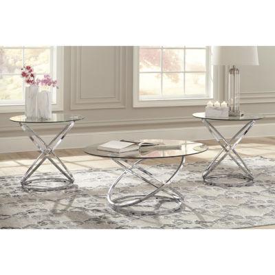 Signature Design By Ashley® 3 Piece Hollynyx Coffee Table Set