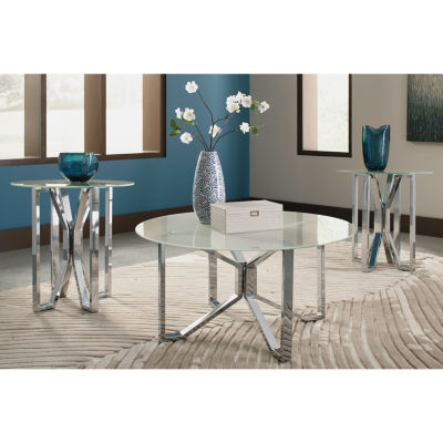 Signature Design by Ashley® 3-Piece Tangeline Coffee Table Set