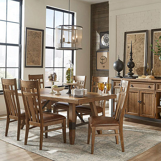 River 7-Pc Dining Set