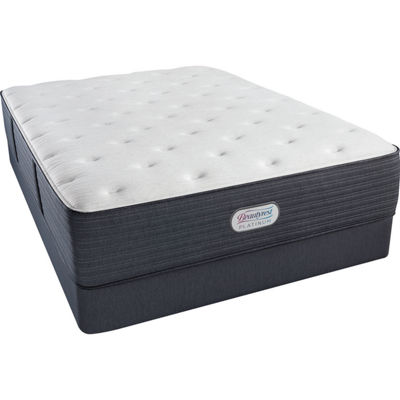 Simmons® Beautyrest® Platinum® Chambers Bridge Plush Tight-Top Mattress + Box Spring